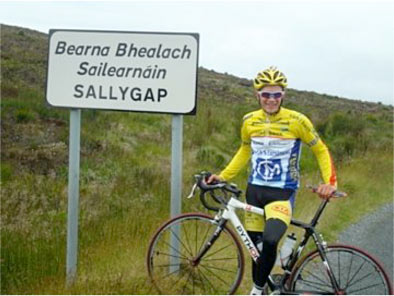 Back to his roots at Wicklow's Sally Gap