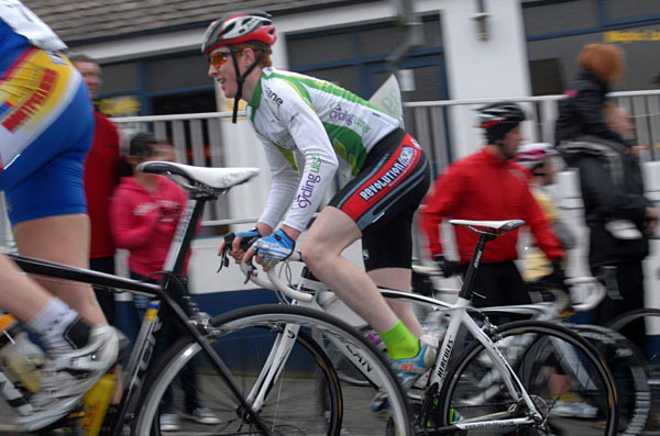 Cormac Clarke (Cycling Ulster) took today's third stage in Donegal (Photo: Darren Crawford)