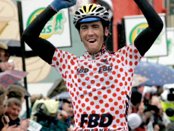 Power wins Rás stage 4 into Listowel in 2006 – he twice won the race overall