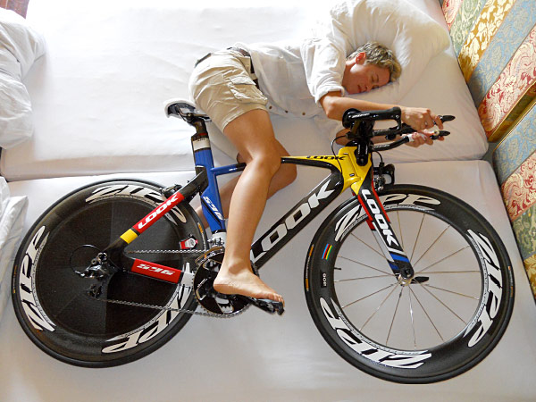 Most riders are very good at getting the miles in this time of year, but what about recovery and sleep?