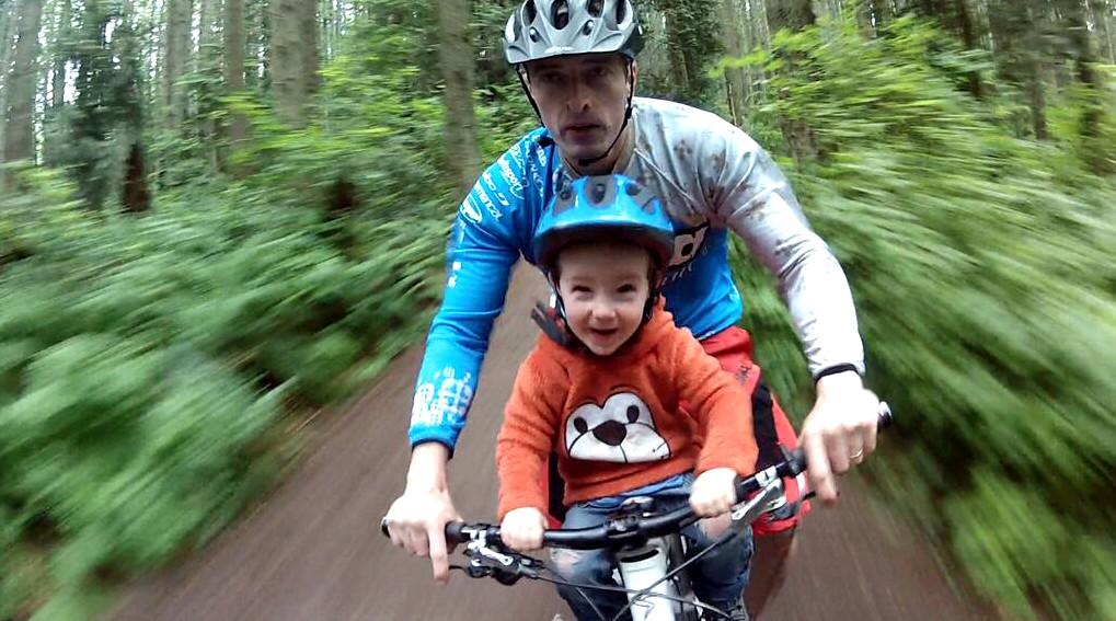 Kids Bike Seat Front