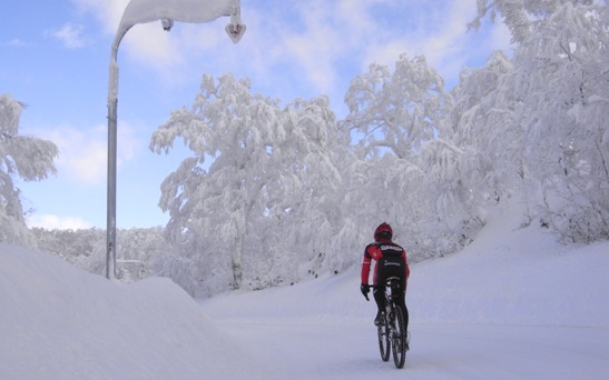 Photo: It's that time of year again. The Facebook and Twitter machines have been hopping with updates from cycling clubs all over the country announcing their winter training spin is back on the road..
