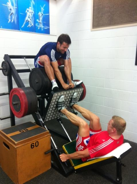 Strength conditioning training cyclists winter