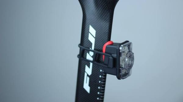 Photo: Pictured on an aero seatpost; it really couldn't be any neater and the enhanced functions look set to make this Irish invention one of the bike game's real winners of 2014..