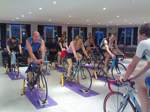 10 ways to make winter turbo trainer sessions less boring