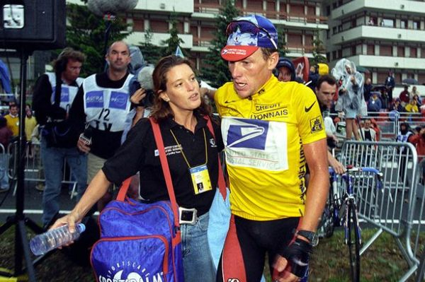 Photo: Emma O'Reilly has remainded in contact with Lance Armstrong and says he has grown as a person and is genuinely sorry.