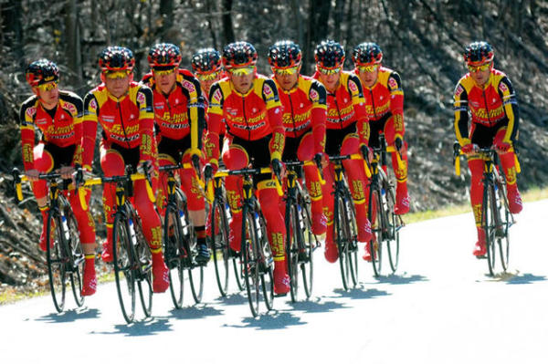 Photo: They eat less on and off the bike. They eat very, very well.