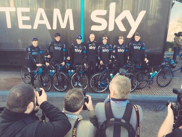 Photos   Videos  Inside Sky s training camp with Deignan and Roche ... 029254caf