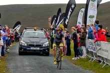 Ed Laverick winning Stage 4 of the Suir Valley 3 Day