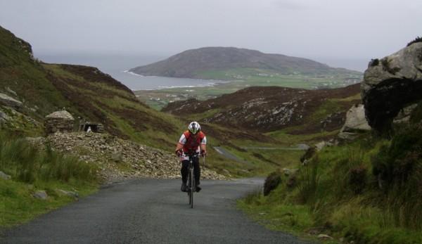 Race Around Ireland hill