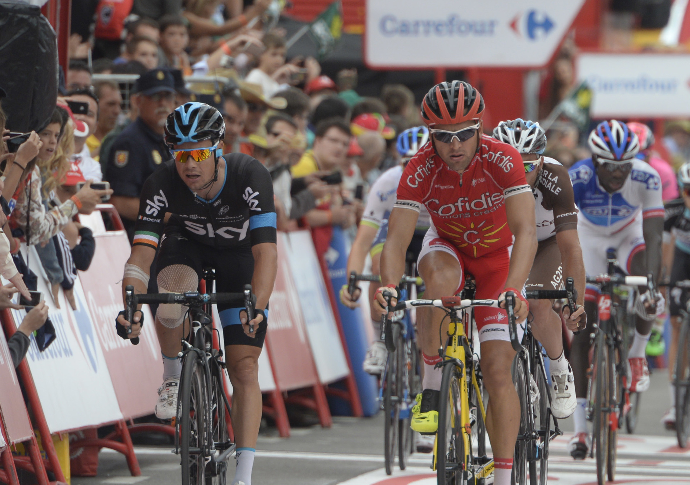 Aggressive Roche on the offensive to grab podium finish at Vuelta