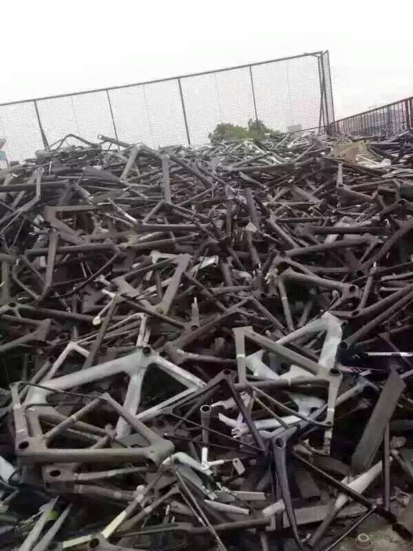 Photos Of Carbon Fibre Bike Dump Reveal Worrying Waste