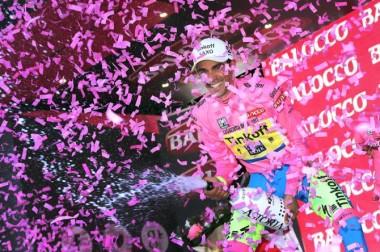 Giro podium