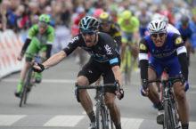 30-03-2016 Kbc Driedaagse Van De Panne - Koksijde; Tappa 02 Zottegem - Koksijde; 2016, Team Sky; 2016, Etixx - Quick Step; Viviani, Elia; Kittel, Marcel; Koksijde;