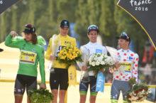 24-07-2016 Tour De France; Tappa 21 Chantilly - Paris; 2016, Team Sky; 2016, Tinkoff; 2016, Orica - Bikeexchange; Froome, Christopher; Sagan, Peter; Yates, Adam; Majka, Rafal; Paris;