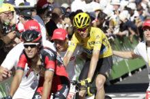 20-07-2016 Tour De France; Tappa 17 Bern - Finhaut Emosson; 2016, Team Sky; Froome, Christopher; Finhaut Emosson;