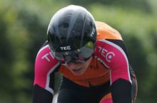 PRESS RELEASE….NO REPRO FEE…….  An Post Ras na mBan Stage 4 Time Trial 10/9/2016  Race leader Rikke Lonne of team Cresent Dare during this mornings Time Trial Pic Lorraine O'Sullivan  PRESS RELEASE….NO REPRO FEE…….