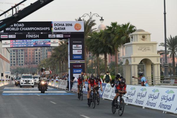 09-10-2016 World Championship Team Time Trial; 2016, Bmc Racing; Doha;