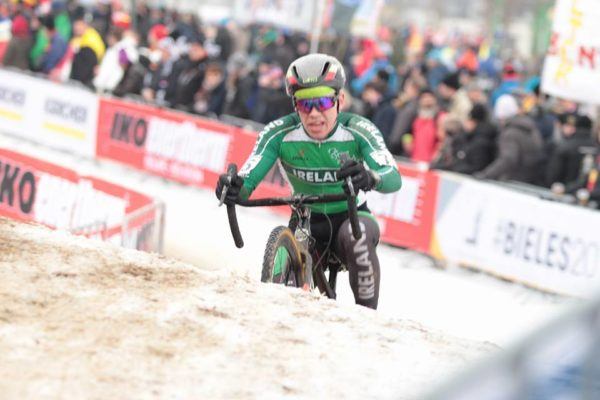 JB Murphy Euro Champs velodrome