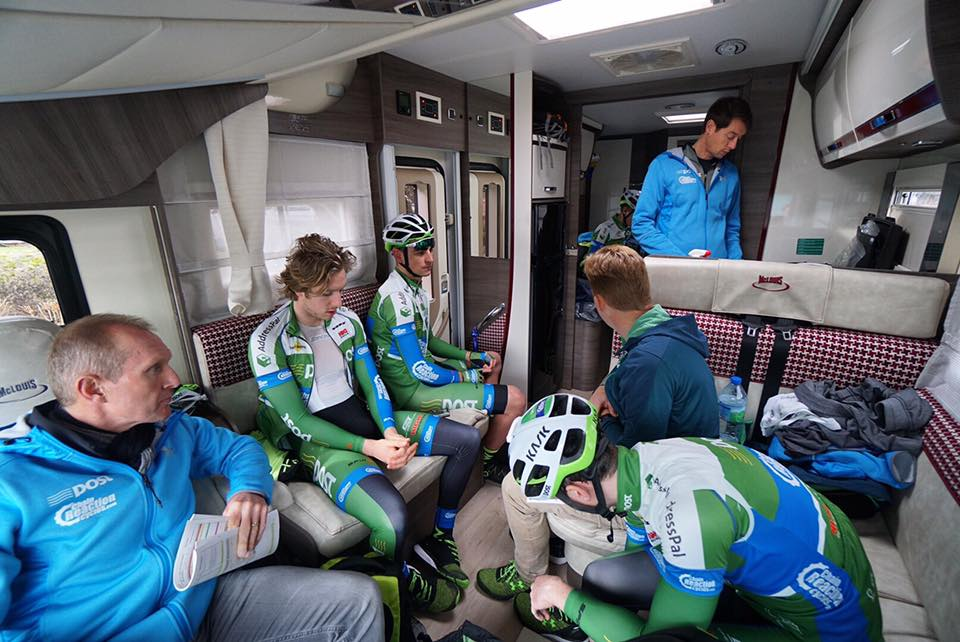 The An Post ChainReaction Camper Has Been Around World And Witnessed Moments Of Joy Despair As Riders Find Their Feet In Pro Game