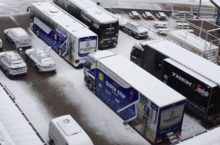 Video: Snow is falling and Catalunya could see an epic stage 4