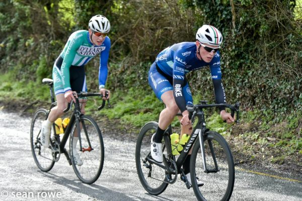New face just popped up in the Irish peloton. Who is he?