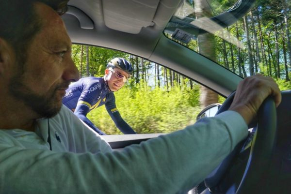 Tim Barry on his new life in pro cycling with Aqua Blue Sport