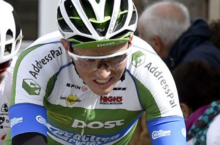 Video: Irish cyclist Damien Shaw attacking in France