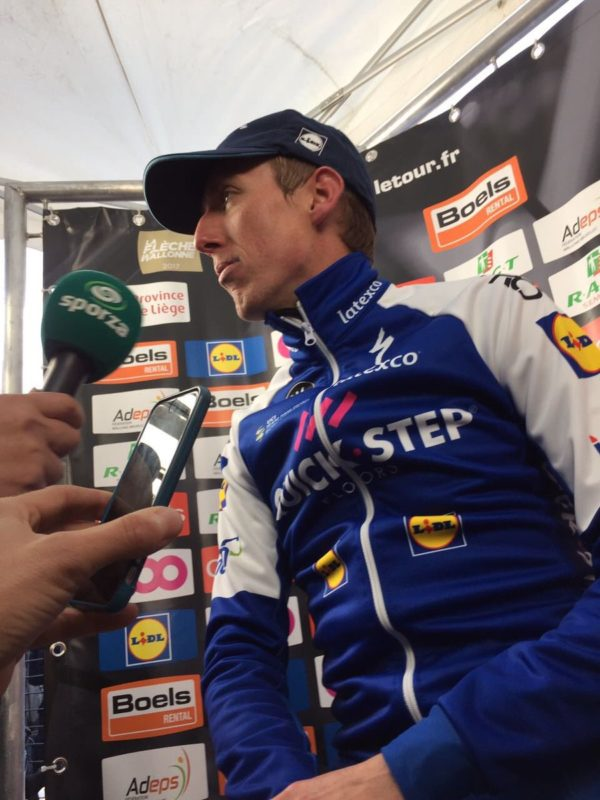 Video: Dan Martin on what he has to do to beat Alejandro Valverde
