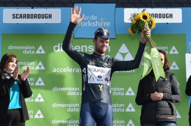 Conor Dunne fights way onto podium at Tour de Yorkshire