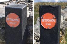 New Strava signs popping up on Irish roads marking segments
