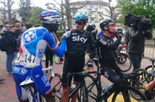 Video: Team Sky victory clip captures its own rider in racism row