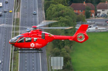 Cyclist airlifted to hospital after hit by car; Gardai investigate