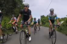 Video: On-board footage inside Rás peloton on frantic final stage