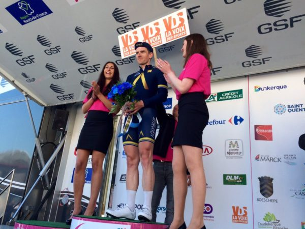 Martyn Irvine takes first podium of comeback at Four Days Dunkirk