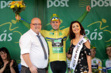 Teggart in dreamland after seizing yellow on Rás queen stage