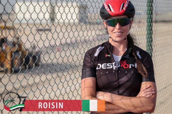 Irish woman to undertake near 500km race in Middle East
