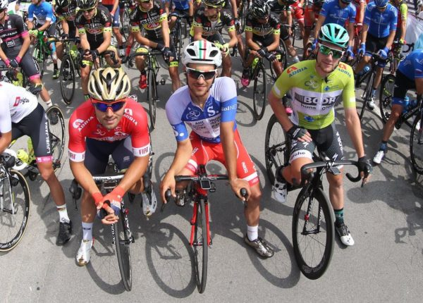 Sam Bennett crash in Tour de Slovenia