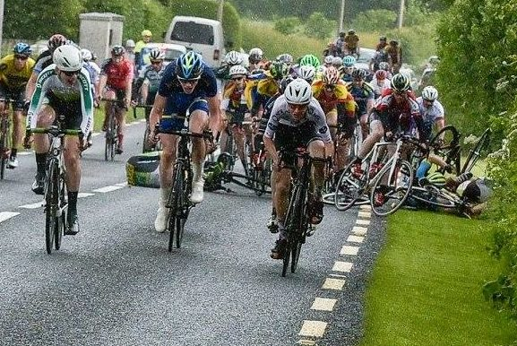 Main event in Kildare scrapped after crash; injured riders all discharged