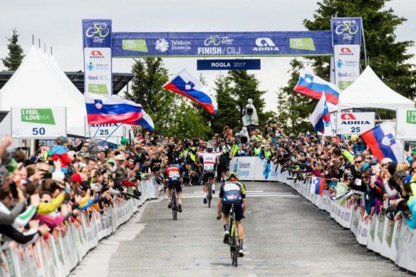 Irish cyclist Sam Bennett Tour de Slovenia