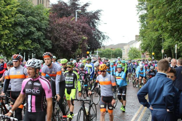 Incredible scenes at funeral of cyclist Gavin Moore