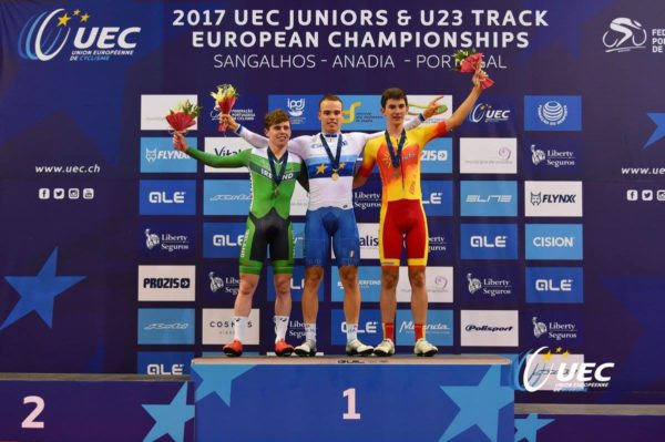 JB Murphy stuns Euro Champs in first ever velodrome race