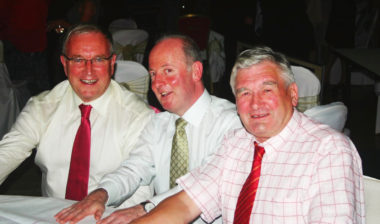 Ken Duff Pat McQuaid and Tony Ryan