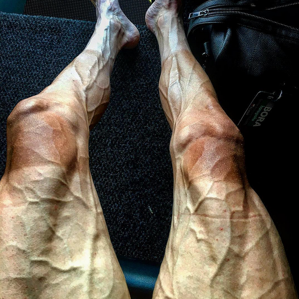 most ripped legs in Tour de France 2017