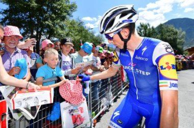 Dan Martin QuickStep team Vuelta
