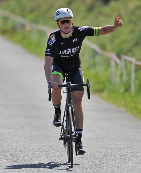 Marc Potts wins National Criterium Championships