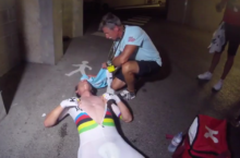 Tony Martin shattered after Tour de France TT