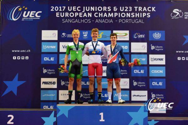 Xeno Young boosts Irish cycling at Euro Champs