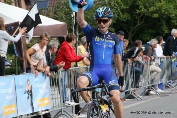 Irish cyclist Adam Stenson Monaco