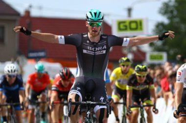 Irish cyclist Sam Bennett